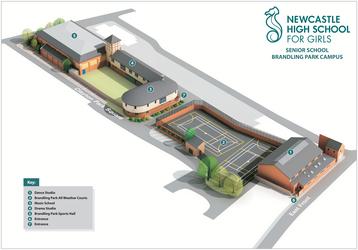 Brandling Hard Court - Newcastle High School for Girls - Newcastle - 2 - SchoolHire