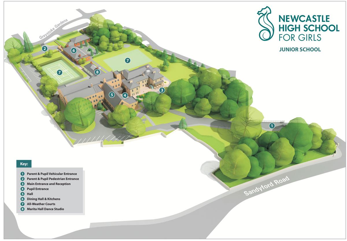 Junior School Grounds - Newcastle High School for Girls - Newcastle - 3 - SchoolHire