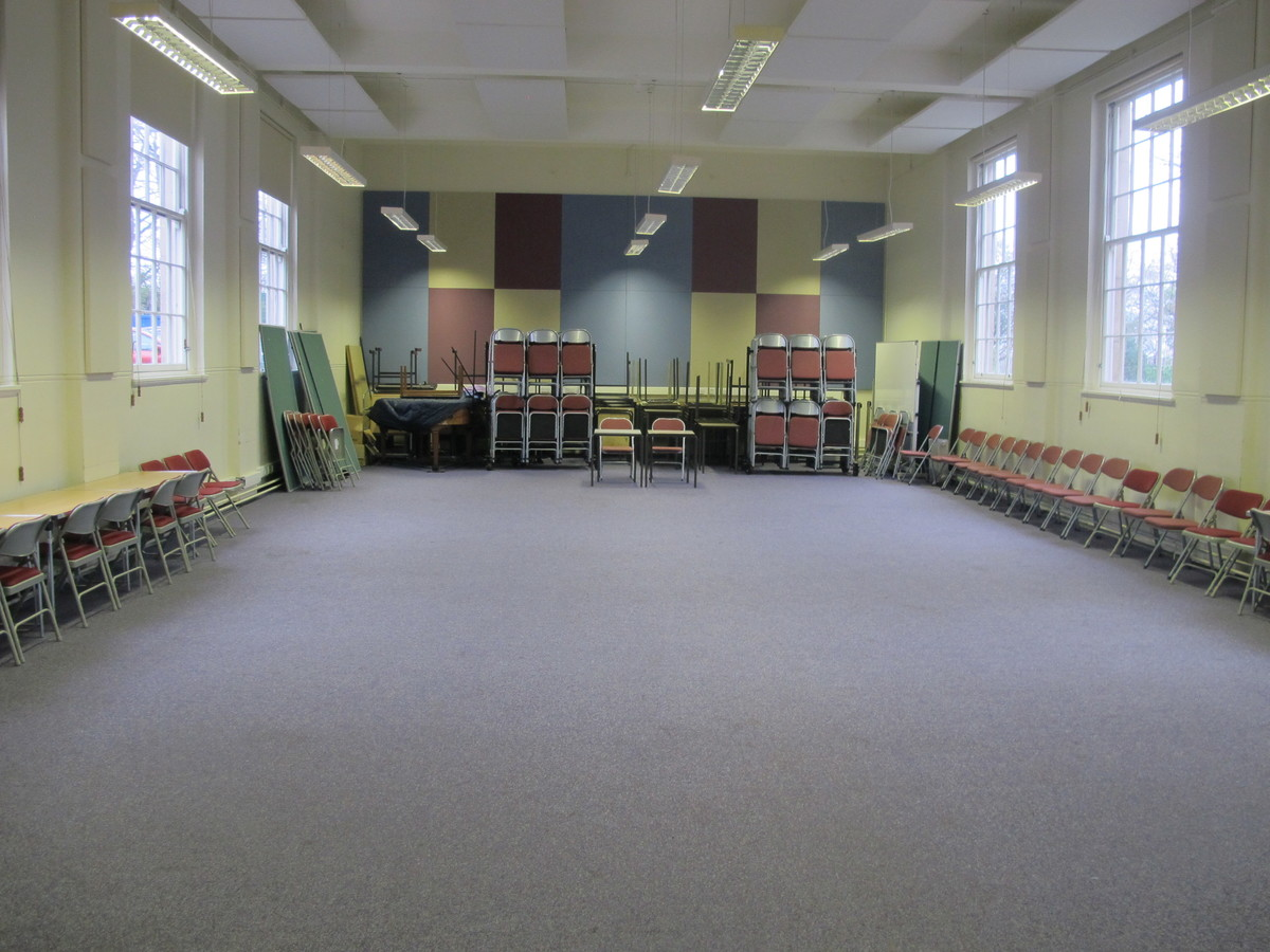 Main Hall At Woodford County High School For Hire In