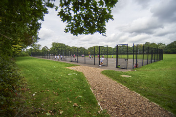 MUGA Court - Playing Field - Woodford County High School - Essex - 1 - SchoolHire