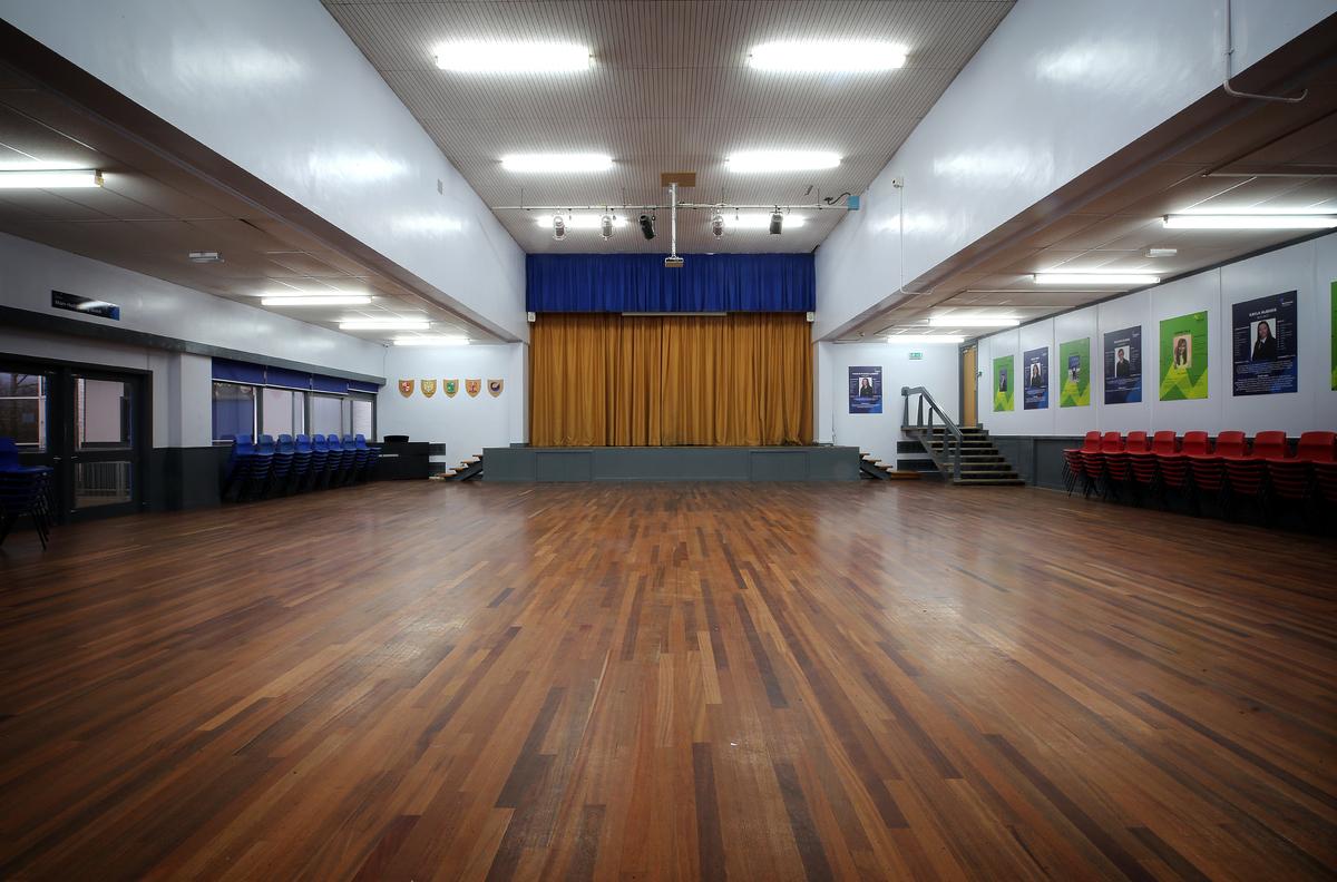 Main Hall - Nunthorpe Academy - Middlesbrough - 1 - SchoolHire
