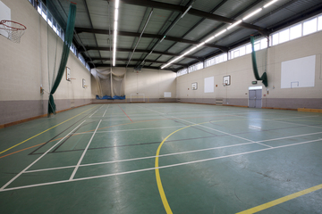 Sports Hall - Nunthorpe Academy - Middlesbrough - 2 - SchoolHire