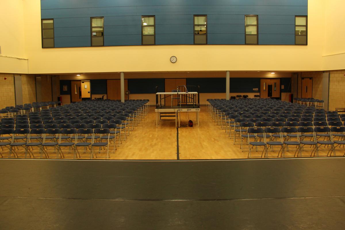 Main Hall - Trinity Academy - Doncaster - 4 - SchoolHire