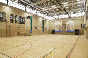 Sports Hall - Trinity Academy - Doncaster - 1 - SchoolHire