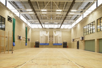 Sports Hall - Trinity Academy - Doncaster - 3 - SchoolHire