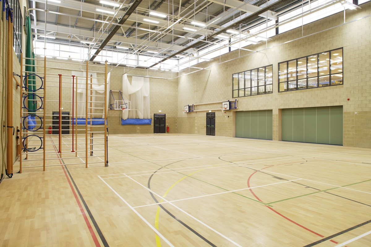 Sports Hall - Trinity Academy - Doncaster - 2 - SchoolHire