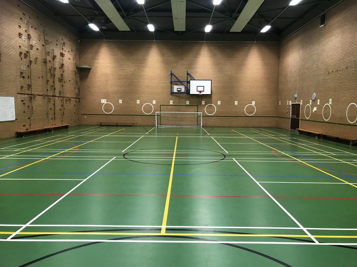 Sports Hall - St John Bosco Arts College - Liverpool - 2 - SchoolHire