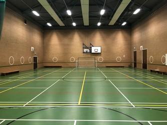 Small sports hall   st john bosco arts college   liverpool   2   schoolhire