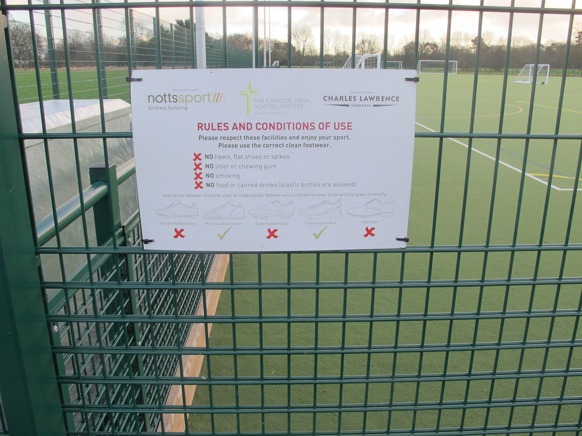 All weather Multi-Sport Pitch - The Catholic High School - Cheshire West and Chester - 4 - SchoolHire