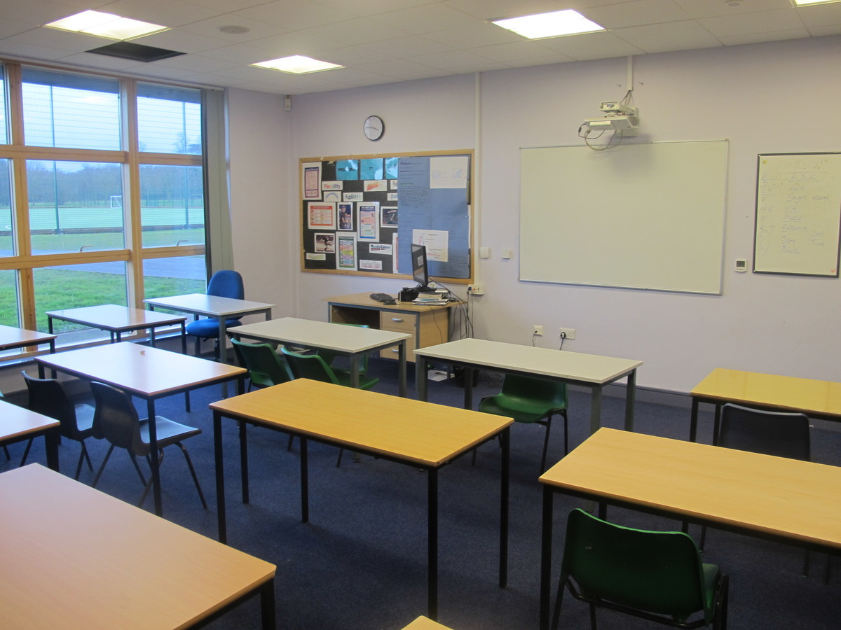 Classroom - Emmaus Block - The Catholic High School - Cheshire West and Chester - 1 - SchoolHire