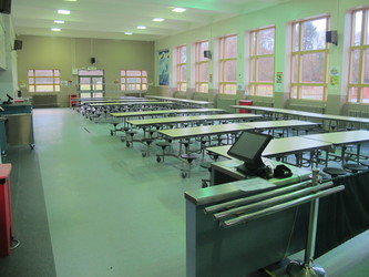Dining Hall - The Catholic High School - Cheshire West and Chester - 2 - SchoolHire