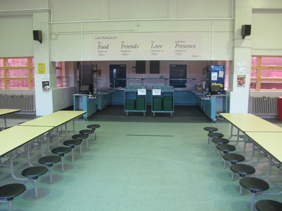 Dining Hall - The Catholic High School - Cheshire West and Chester - 3 - SchoolHire