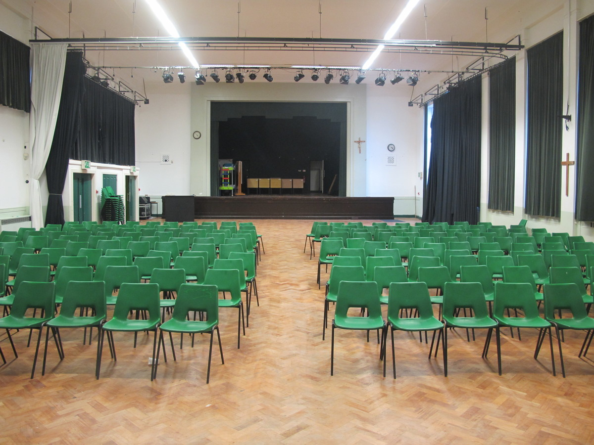 Main Hall - The Catholic High School - Cheshire West and Chester - 2 - SchoolHire