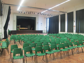 Main Hall - The Catholic High School - Cheshire West and Chester - 4 - SchoolHire