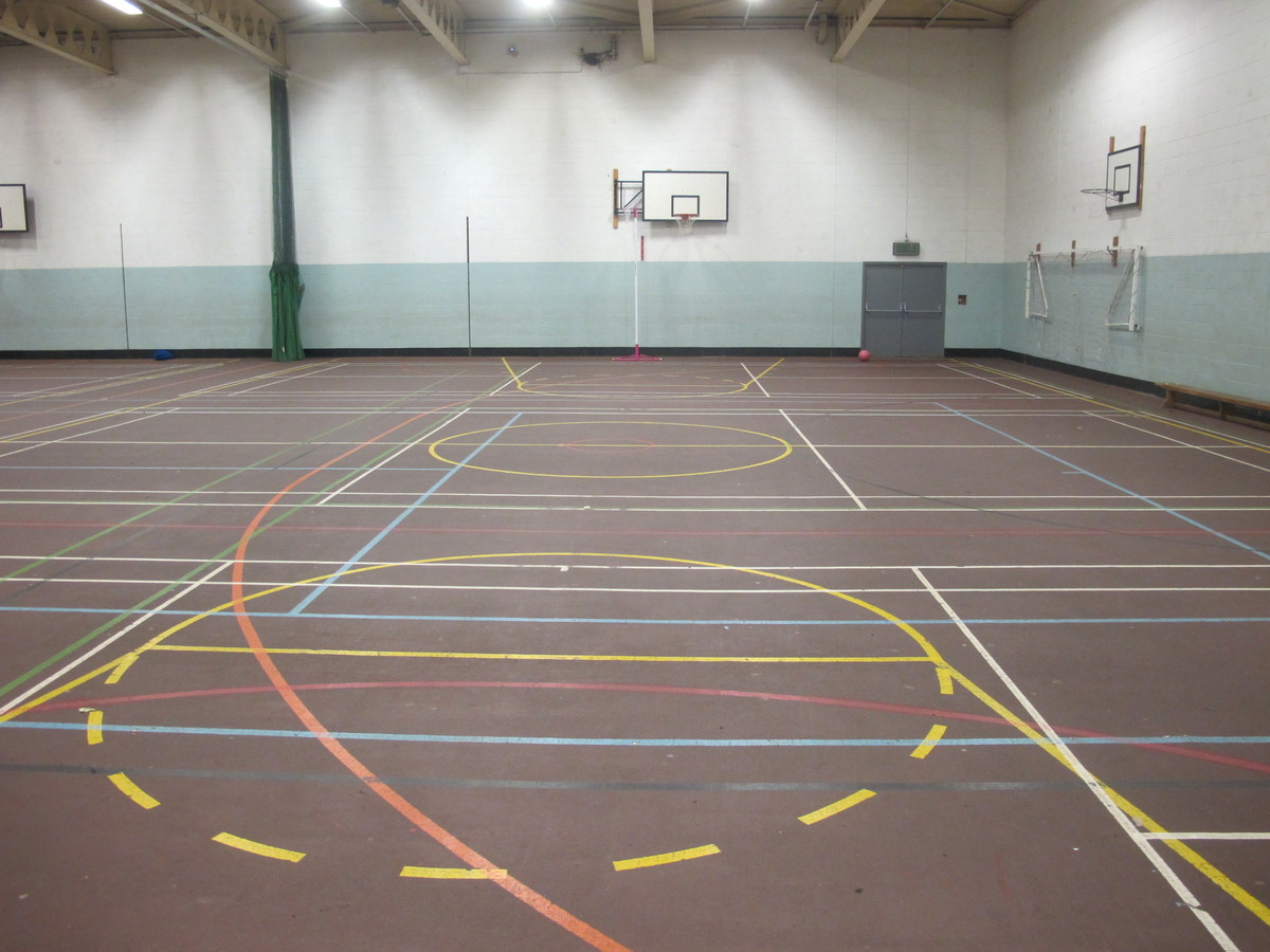 Sports Hall - The Catholic High School - Cheshire West and Chester - 1 - SchoolHire