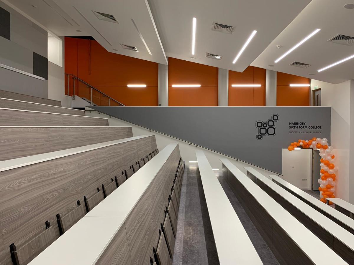 Lecture Theatre - Haringey Sixth Form College - Haringey - 3 - SchoolHire