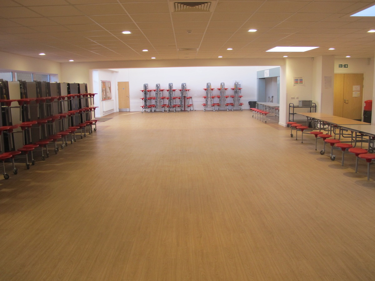 Dining Hall - Humberston Academy - North East Lincolnshire - 1 - SchoolHire