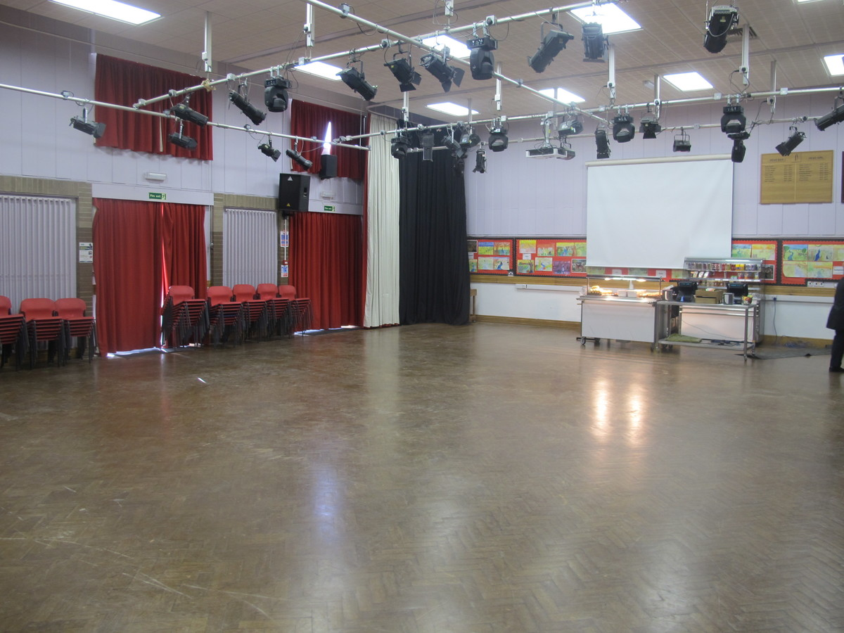 Main Hall - Humberston Academy - North East Lincolnshire - 1 - SchoolHire
