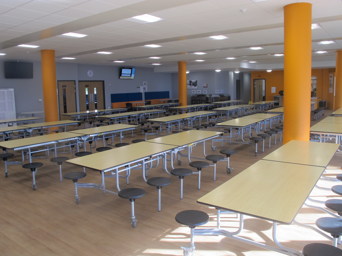 Dining Hall - Ditton Park Academy - Slough - 2 - SchoolHire
