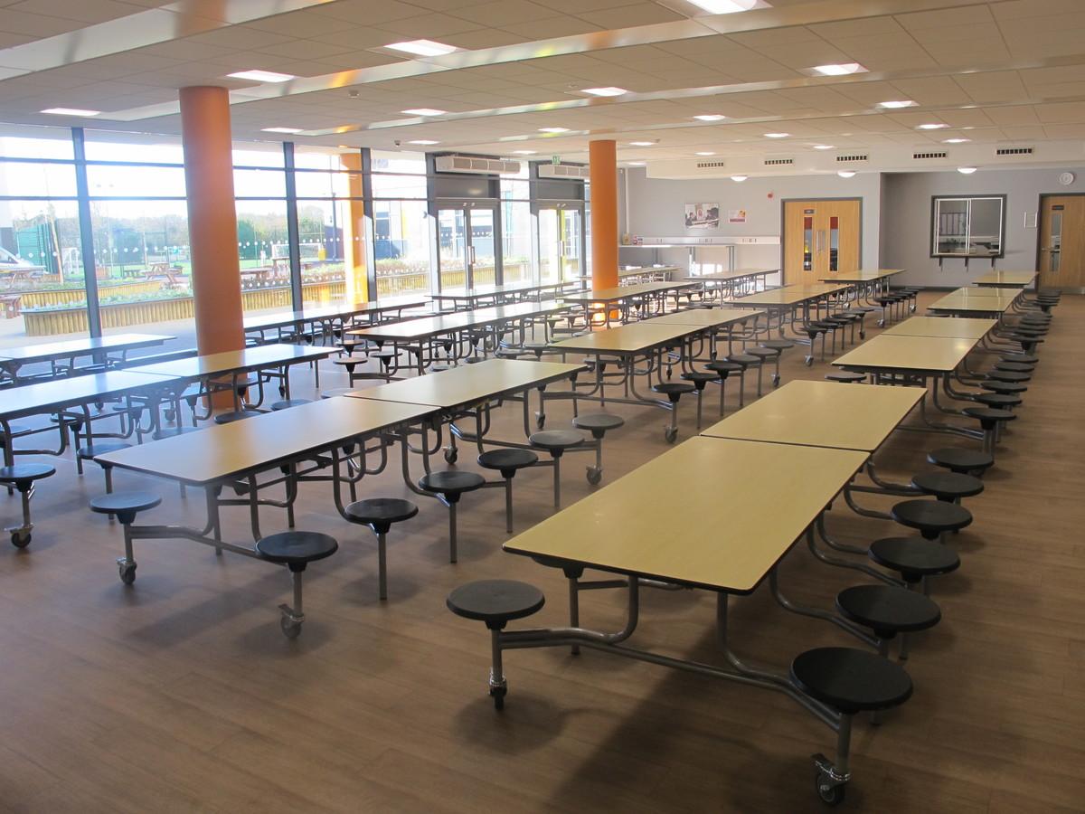Dining Hall - Ditton Park Academy - Slough - 4 - SchoolHire