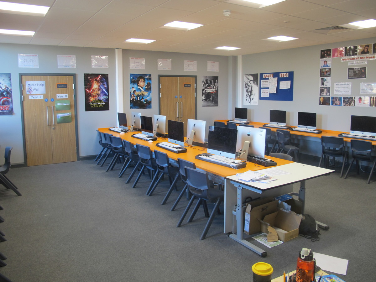 Music Room - Ditton Park Academy - Slough - 1 - SchoolHire