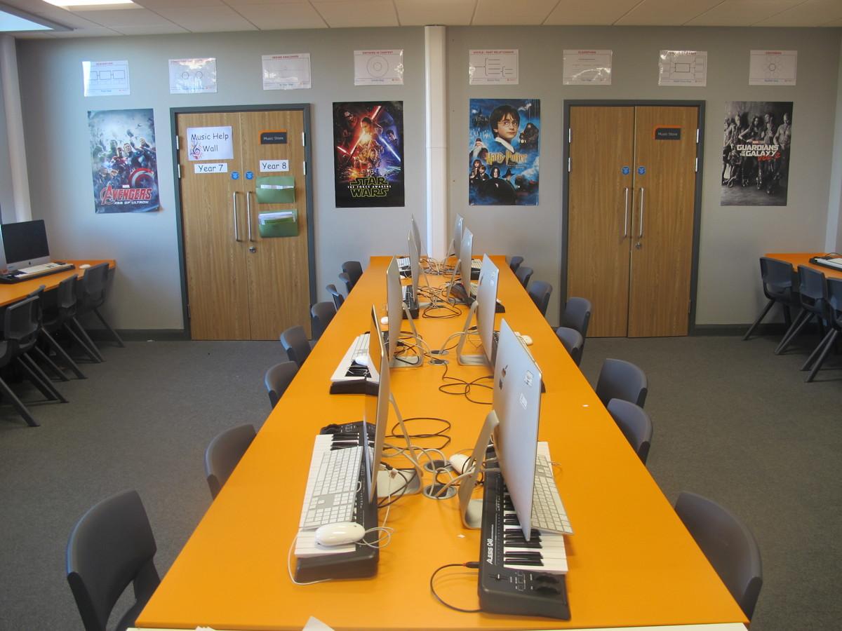 Music Room - Ditton Park Academy - Slough - 3 - SchoolHire