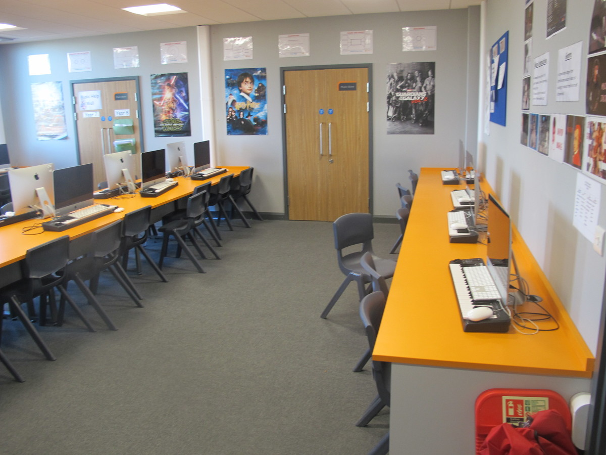 Music Room - Ditton Park Academy - Slough - 4 - SchoolHire