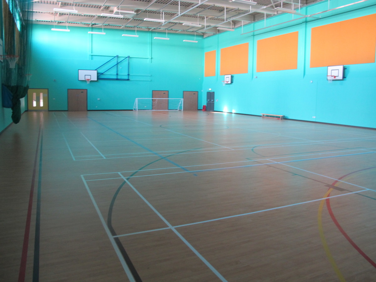 Sports Hall - Ditton Park Academy - Slough - 1 - SchoolHire