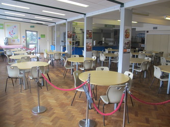 Dining Hall - Dyson Perrins C of E Academy - Worcestershire - 1 - SchoolHire
