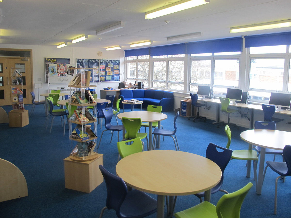Library - Dyson Perrins C of E Academy - Worcestershire - 4 - SchoolHire