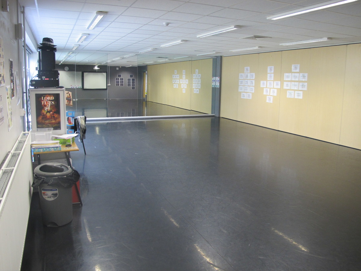 Dance Studio 1 - Valley Park School - Kent - 3 - SchoolHire