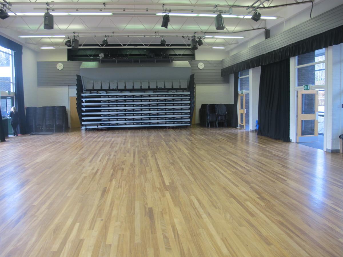 Main Hall - Valley Park School - Kent - 3 - SchoolHire