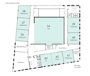 Classrooms New Building 1st Floor - Newcastle High School for Girls - Newcastle - 3 - SchoolHire