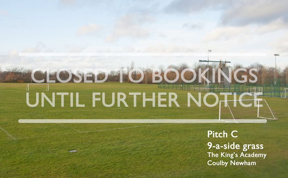 9-a-side Grass Football Pitch (Pitch C) - The King's Academy - Middlesbrough - 1 - SchoolHire