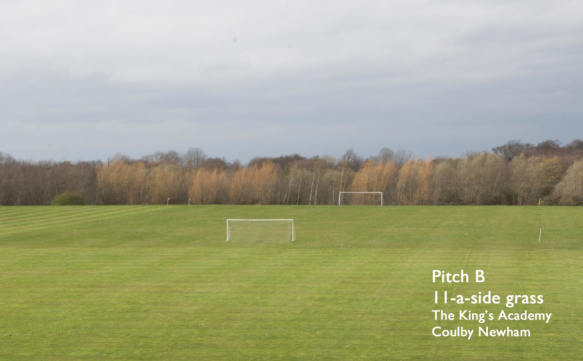 11-a-side Grass Football Pitch (Pitch B) - The King's Academy - Middlesbrough - 1 - SchoolHire