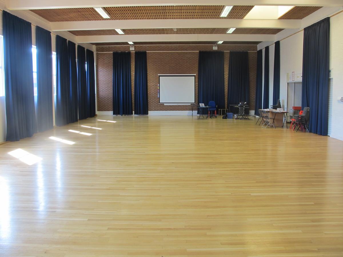 Dance & Drama Studio - Cherbourg - Crestwood Community School - Hampshire - 1 - SchoolHire
