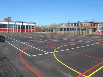 Hardcourt 1 - Cherbourg - Crestwood Community School - Hampshire - 1 - SchoolHire