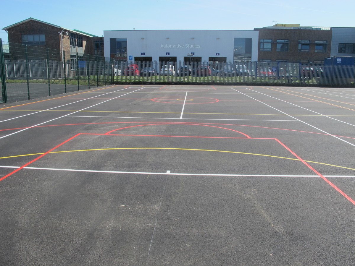 Hardcourt 1 - Cherbourg - Crestwood Community School - Hampshire - 2 - SchoolHire