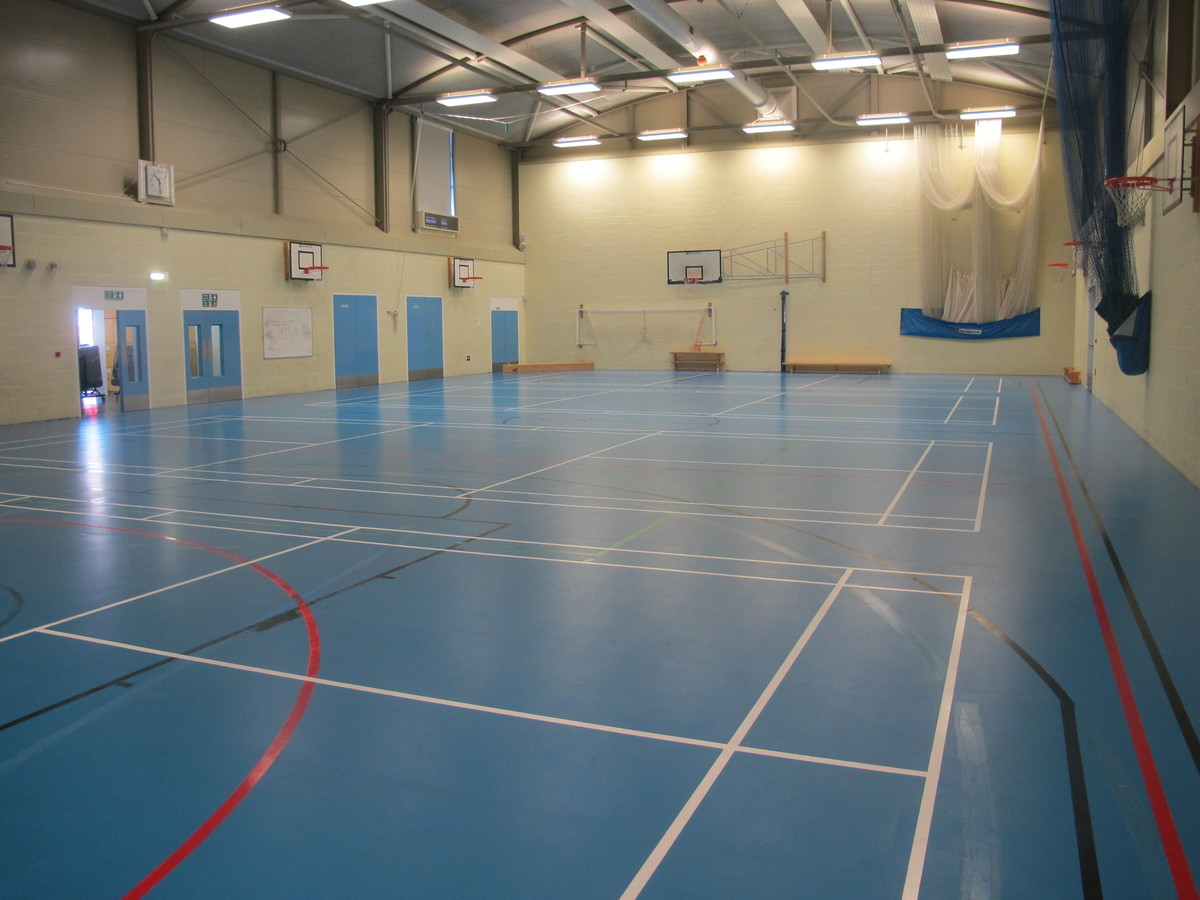 Sports Hall - Cherbourg - Crestwood Community School - Hampshire - 1 - SchoolHire