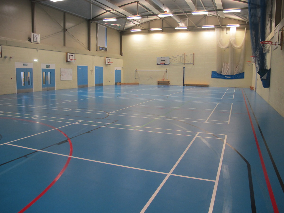 Sports Hall - Cherbourg - Crestwood Community School - Hampshire - 2 - SchoolHire