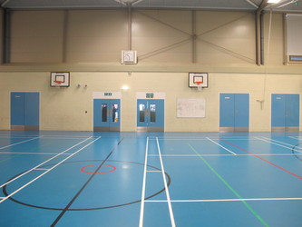 Sports Hall - Cherbourg - Crestwood Community School - Hampshire - 3 - SchoolHire