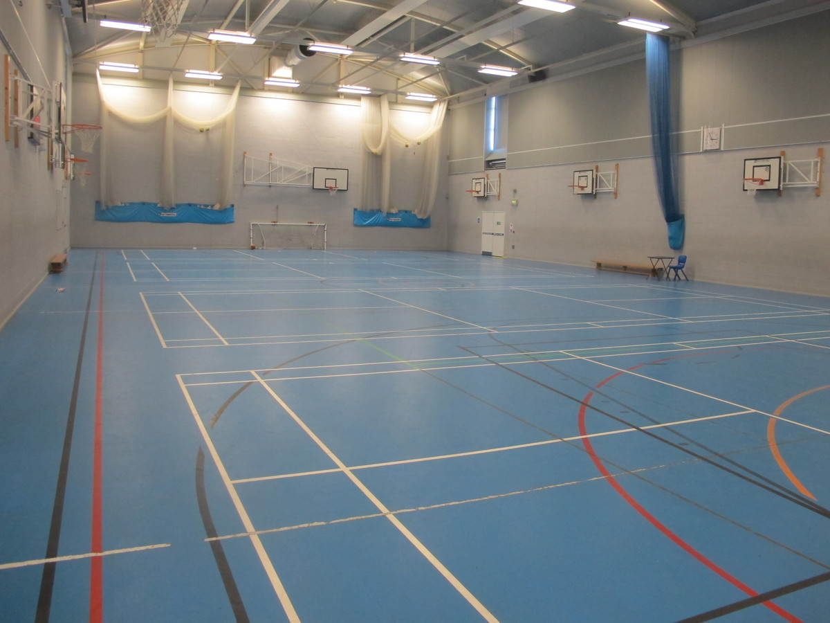 Sports Hall - Crestwood Community School - Hampshire - 2 - SchoolHire