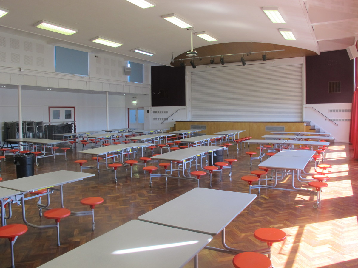 Main Hall - Cherbourg - Crestwood Community School - Hampshire - 3 - SchoolHire