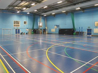 Sports Hall - Newham Sixth Form College - Newham - 1 - SchoolHire