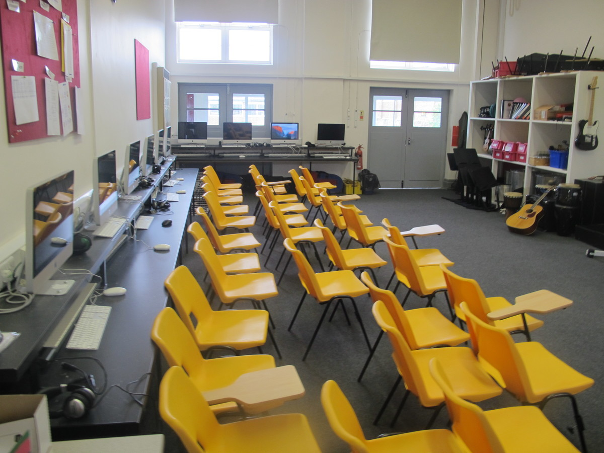Music Room 1 - The Park Community School - Devon - 2 - SchoolHire