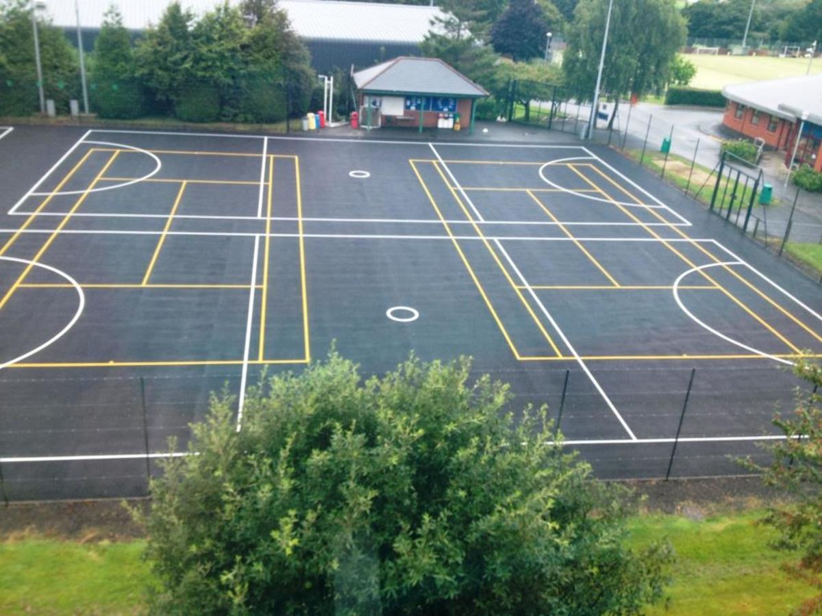 Netball Courts - The Park Community School - Devon - 1 - SchoolHire