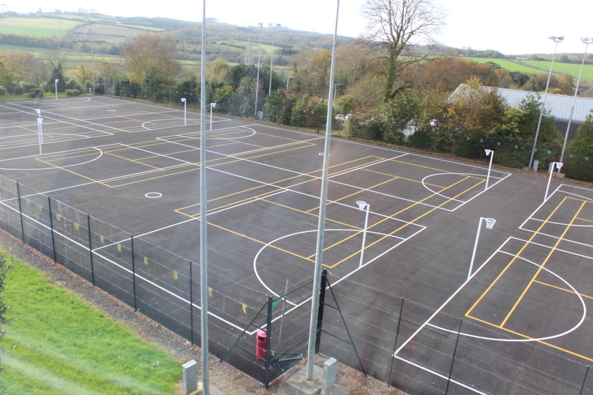Netball Courts - The Park Community School - Devon - 2 - SchoolHire