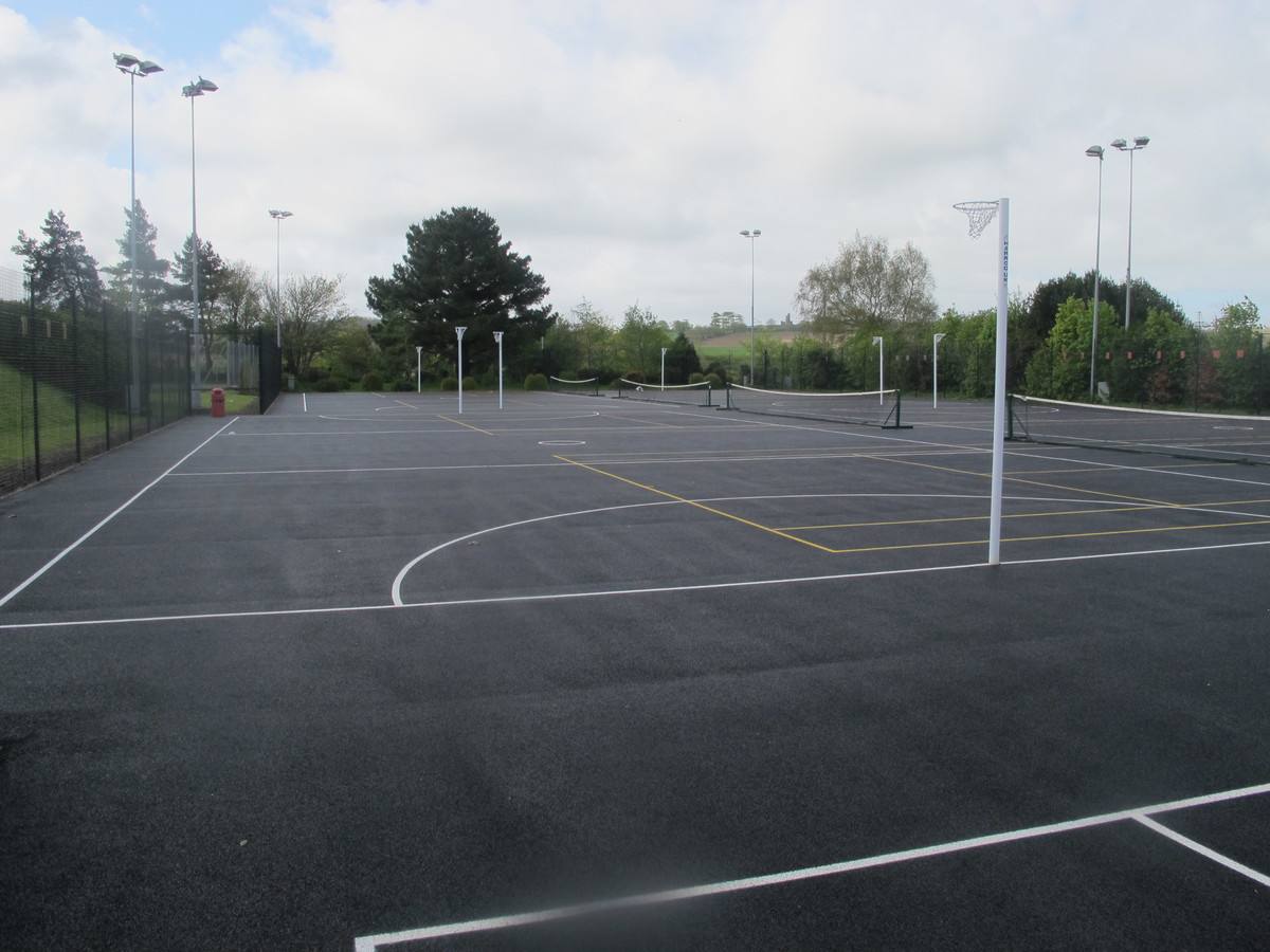 Netball Court At The Park Community School For Hire In