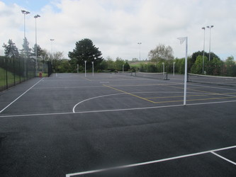 Netball Courts - The Park Community School - Devon - 3 - SchoolHire