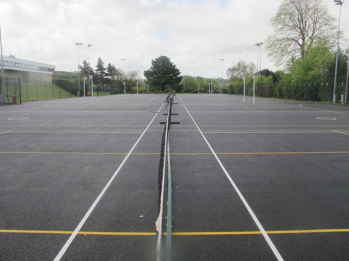 Netball Courts - The Park Community School - Devon - 4 - SchoolHire